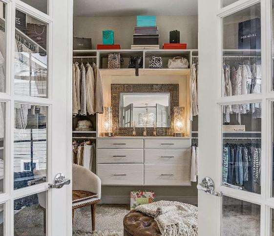 Master Closet Designs