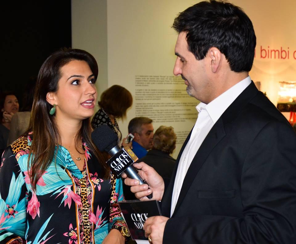 Entrevista Click Noite 2014 em Milão