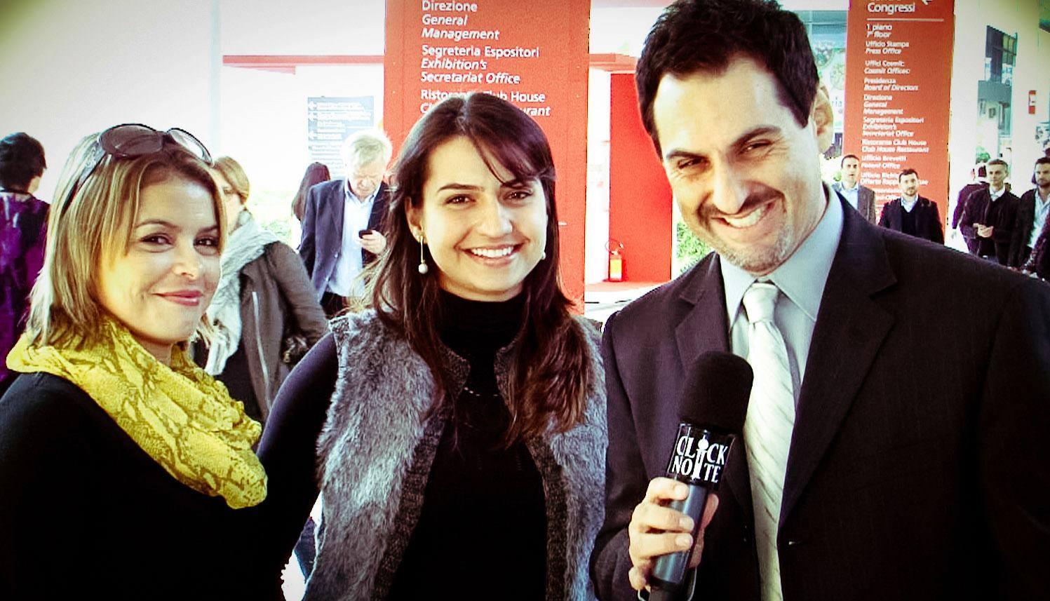 Entrevista Click Noite 2012 em Milão