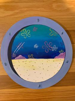 Spongebob window