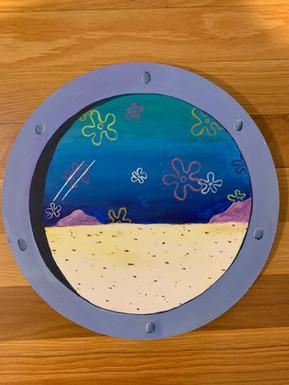 Sponge Bob window