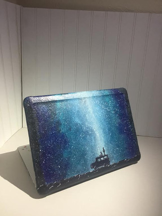 Galaxy computer case