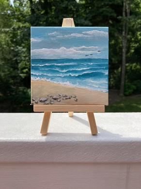 Beach mini Canvas