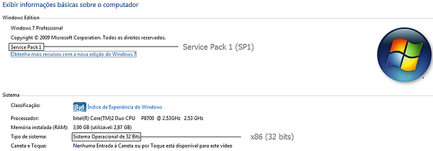 windows 7 professional 32 bits pt-br