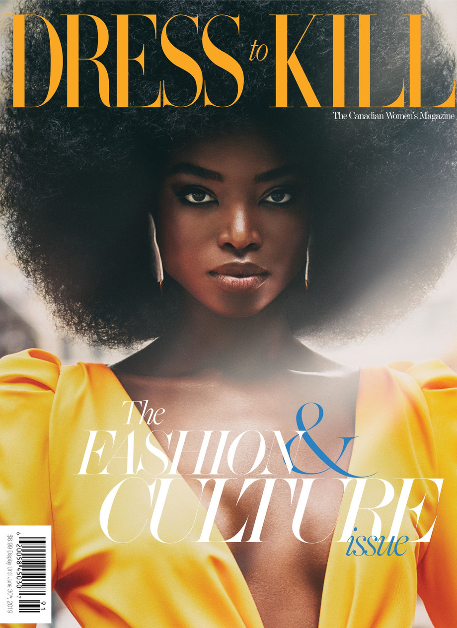 NSxMS Cover on Maria Borges Dress to Kill