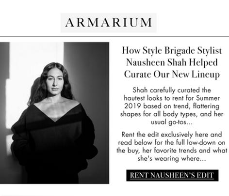 Nausheen Shah x Armarium