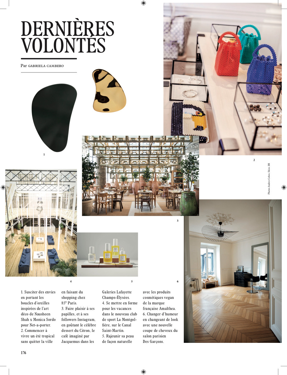 NSxMS features in L'Officiel Magazine May 2019 Issue