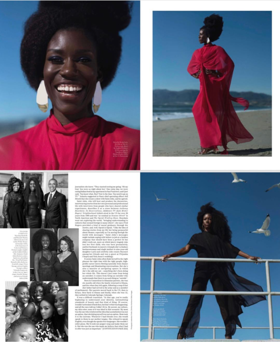 Porter Magazine Summer 2019 issue featuring NSxMS on Bozoma Saint John
