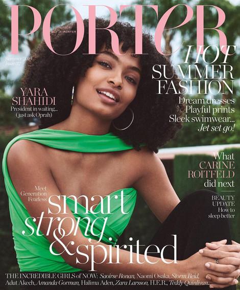 Porter Magazine Summer 2019 issue featuring NSxMS