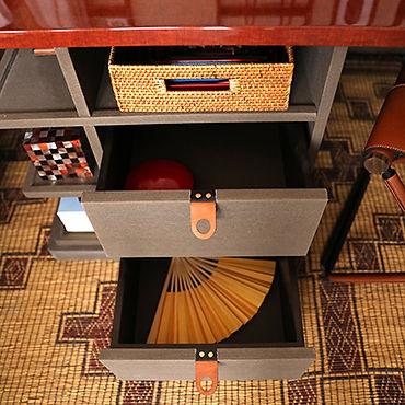 Cajones en lino mueble
