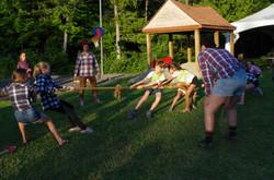 Camp de vacances Les bucherons