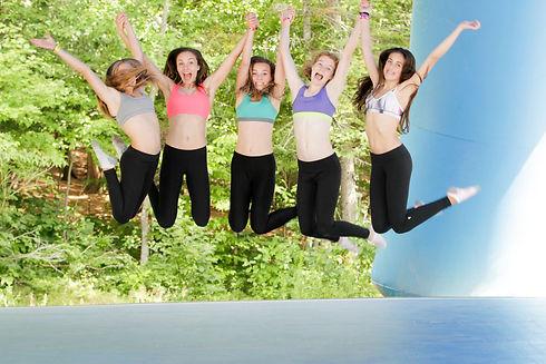 Camp de vacances danse gymnastique cheerleading parkour GymRep CheerRep ParkourRep DanseRep Québec Canada