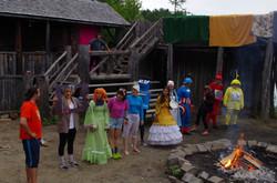 Camp de vacances L'histoire