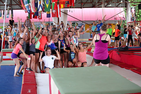 Photographe professionnel Camp de vacances gymnastique GymRep cheerleading CheerRep DanseRep Camp Rep