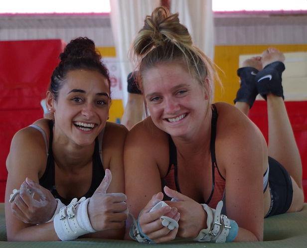 Entraîneur Aspirant Camp de vacances Camps Rep Gymnastique GymRep