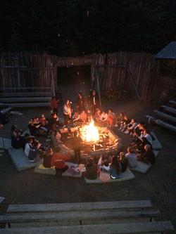 Camp de vacances Feu de camp