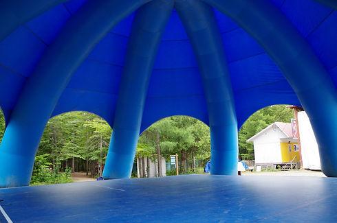 Installation de camp de danse gymnastique Pieuvre Camps Rep DanseRep GymRep