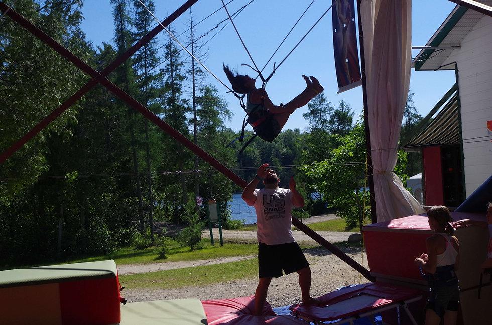 camps de vacances acrobatiques GymRep