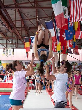 Formation entraîneur Camp de vacances Camps Rep Gymnastique GymRep Cheerleading CheerRep
