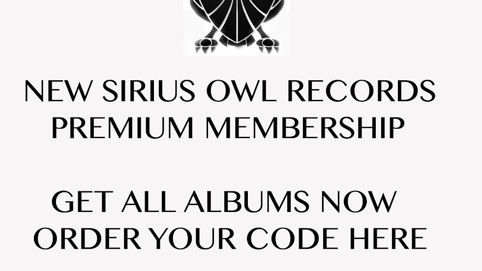 PREORDER ALBUMS AND V.A. 's (Digital)  MEMBERSHIP/DISCOUNT