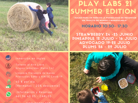 Play Labs 21 - Summer Edition