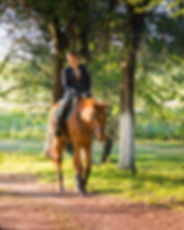 Young couple in love riding a horse.jpg