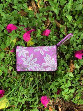 pink with flowers magicbag
