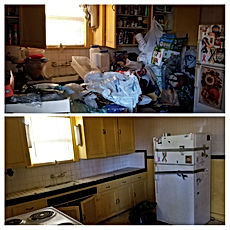Kitchen Hoarder Cleanout