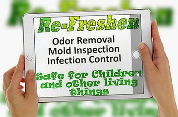 Re-Freshen Odor Mold