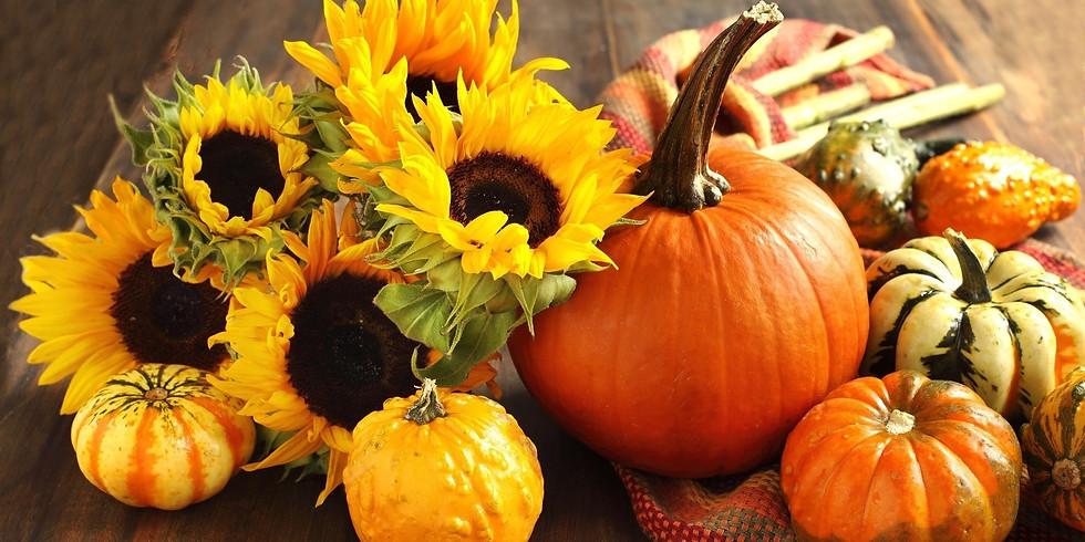 Celebration Sunday: All Things Pumpkin