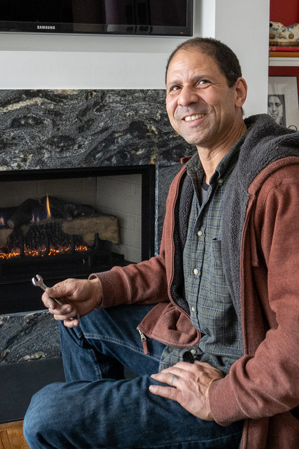 A Cozy Fireplace Can Help Ward Off Chicago's Icy 'Polar Vortex'