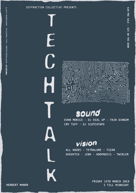 Techtalk Poster