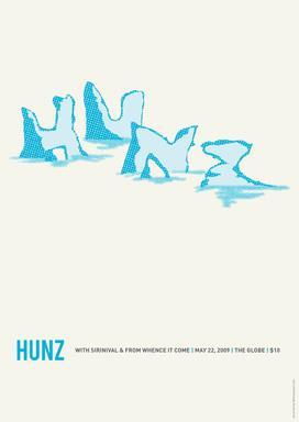 Hunz Poster