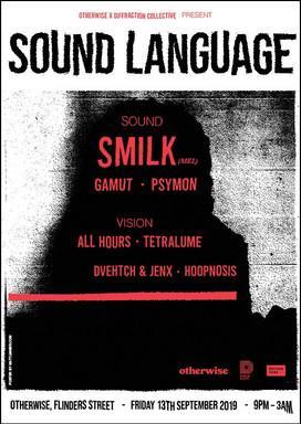 Sound Language Poster