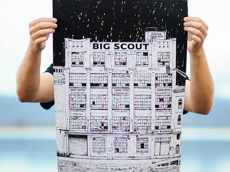 Bigscout Winter Tour poster