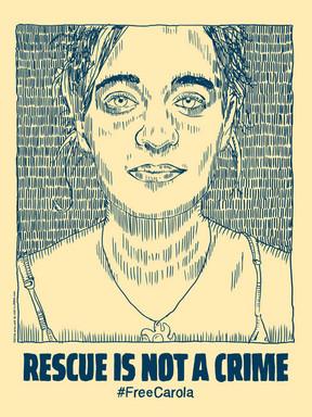 Free Carola Poster