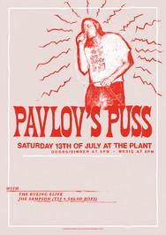 Pavlov's Puss Poster