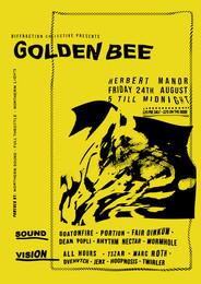 Golden Bee Poster