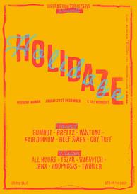 Holidaze Poster