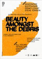 Beauty Amonst The Debris Poster