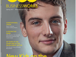 ODOS Founder features on BW front cover...
