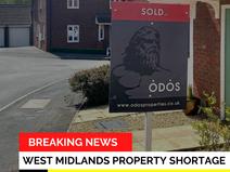 BREAKING NEWS - Property shortage