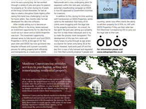 ODOS Properties features in The Business Works Magazine