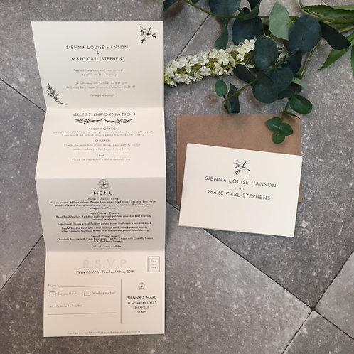 Sienna Wedding Invitation