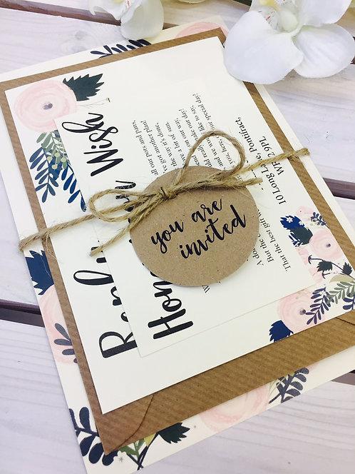 Chloe Wedding Invitation