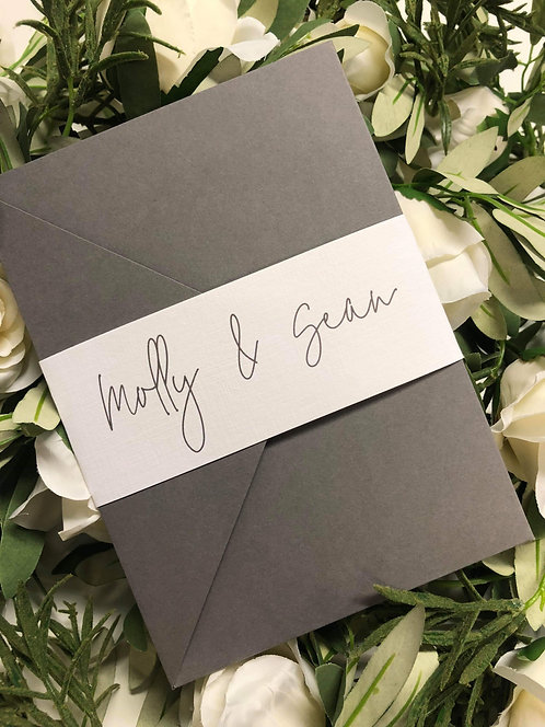 Molly Wedding Invitation