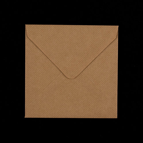 10 x Ribbed Square 140mm x 140mm envelope