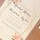 Thumbnail: Rachel pocket Wedding Invitation with floral envelope liner