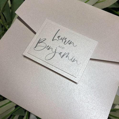 Lauren Wedding Invitation