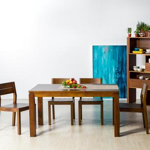 Erlina柚木餐桌